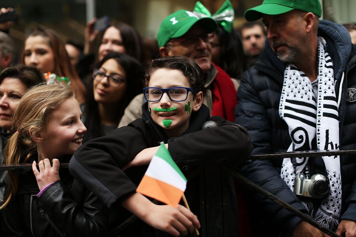 St Patrick's Day NYC parade