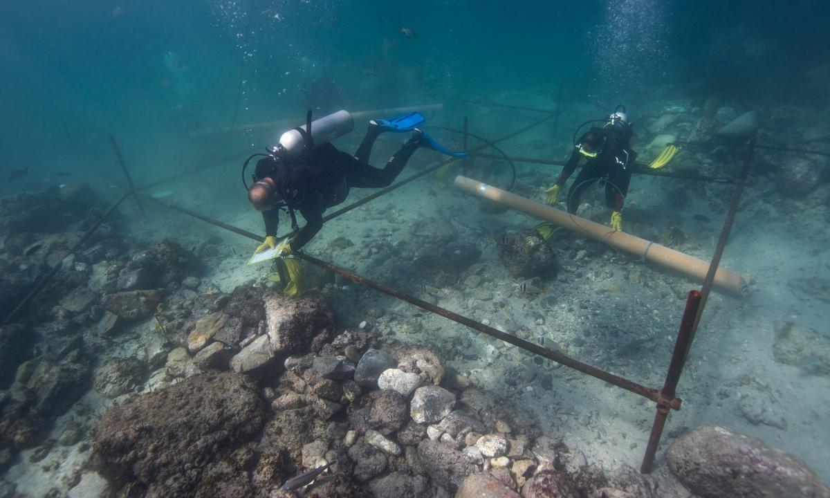 Esmeralda shipwreck