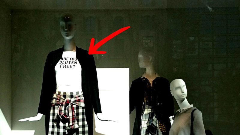 Zara's gluten free t-shirt