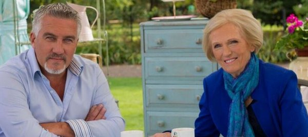 Mary Berry with Paul Hollywood