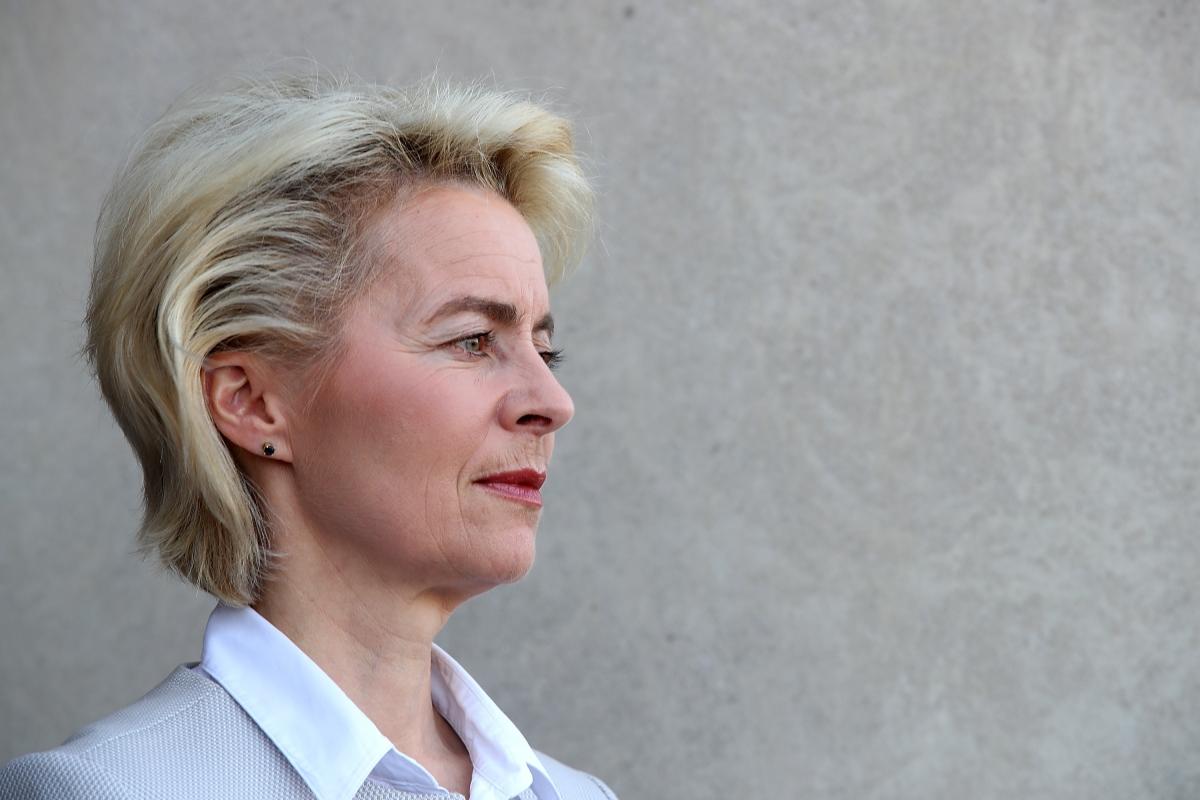 German Minister of Defense Ursula von der Leyen