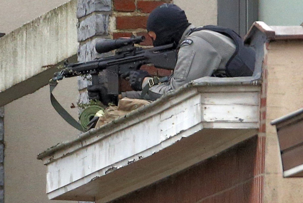Brussels shootout