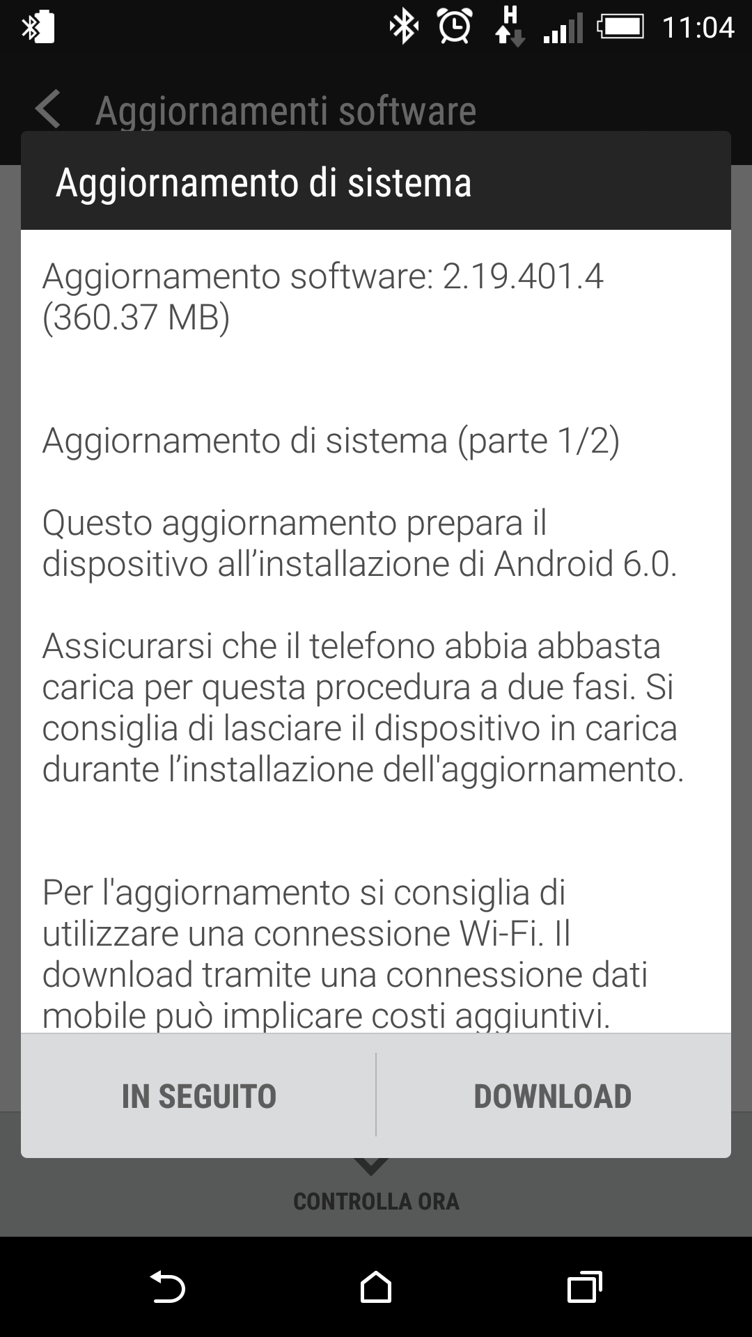 HTC Marshmallow