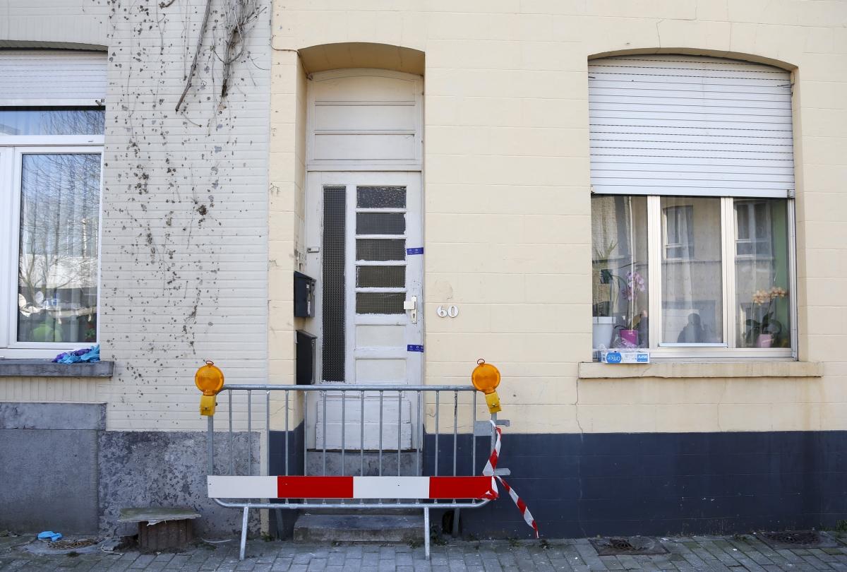 Brussels shootout apartment