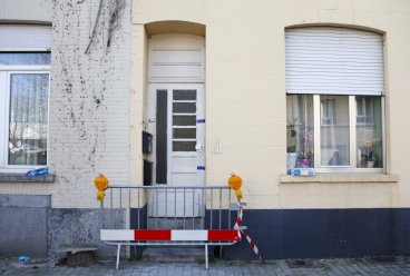 Brussels shootout apartment