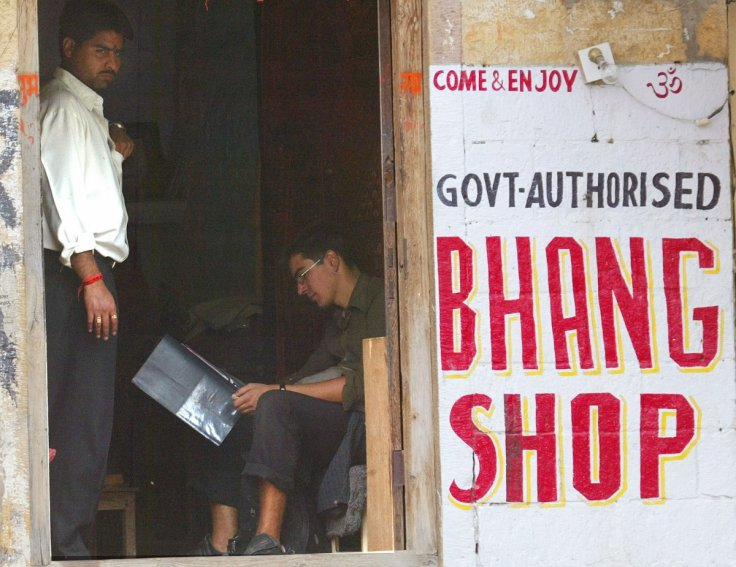 Government Bhang shop