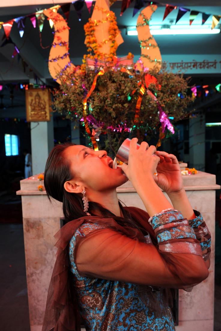 Bhang consumption India