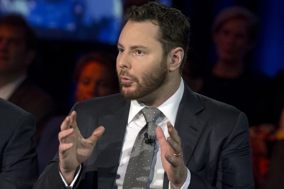 Sean Parker, cofounder of Napster