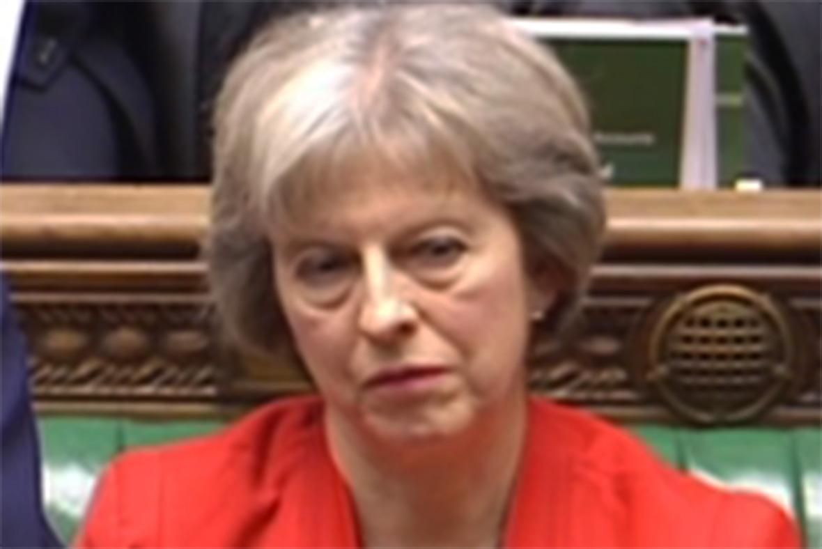 Budget 2016 Theresa May