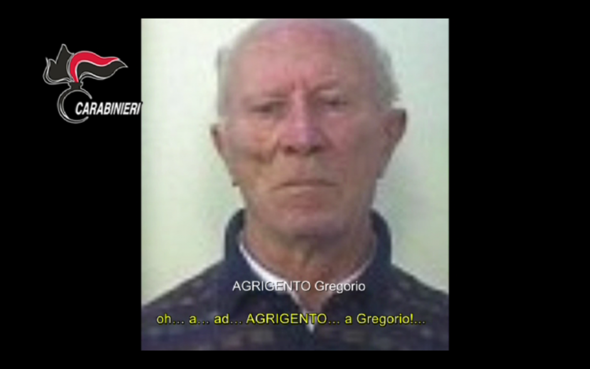 Gregorio Agrigento Mafia Sicily