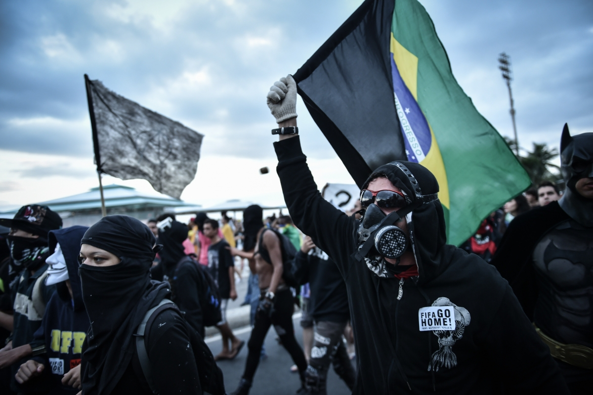 Anonymous in Brazil