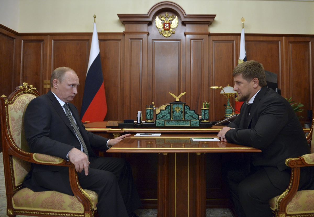 Ramzan Kadyrov and Putin