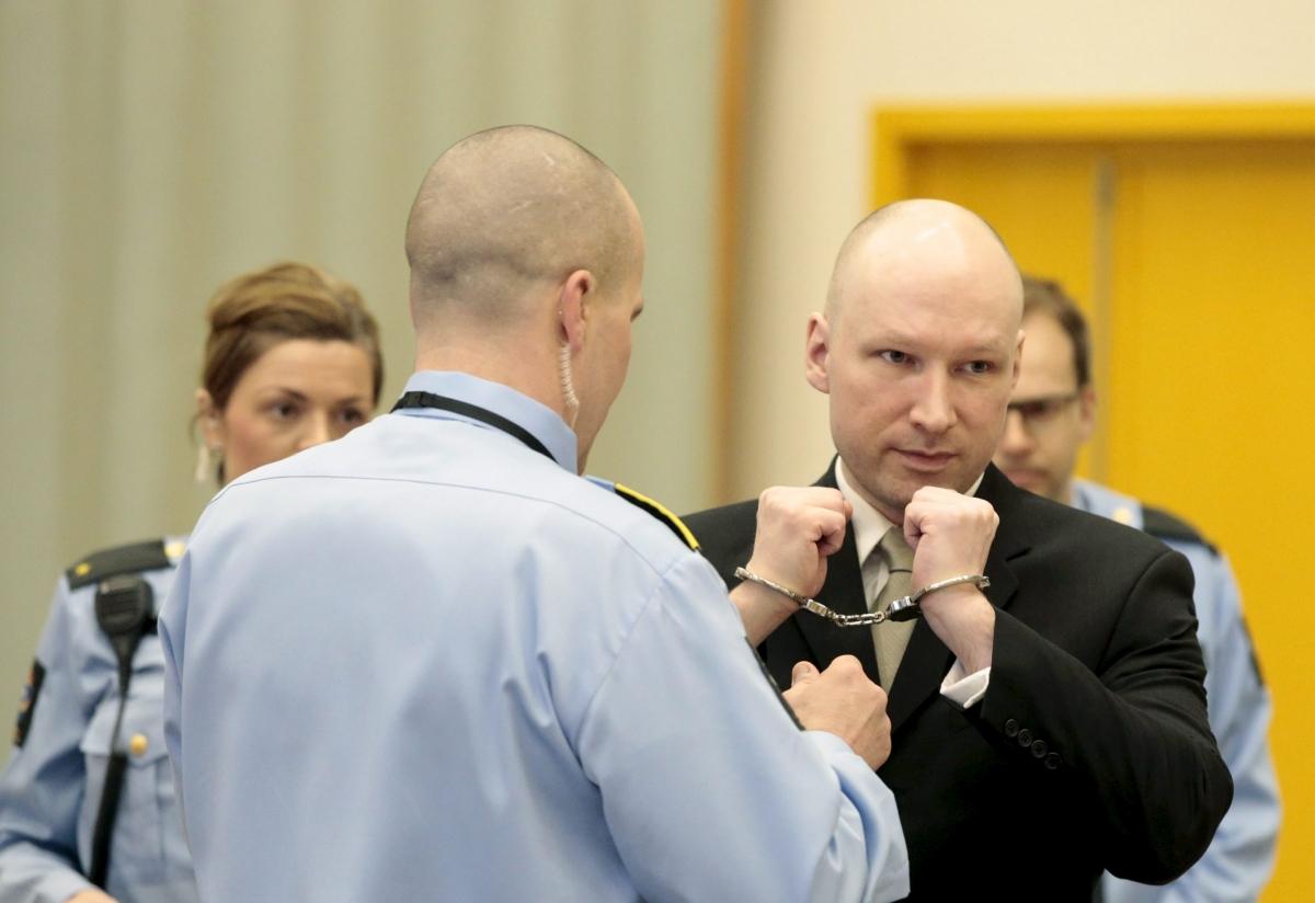 anders breivik norway court march 2016