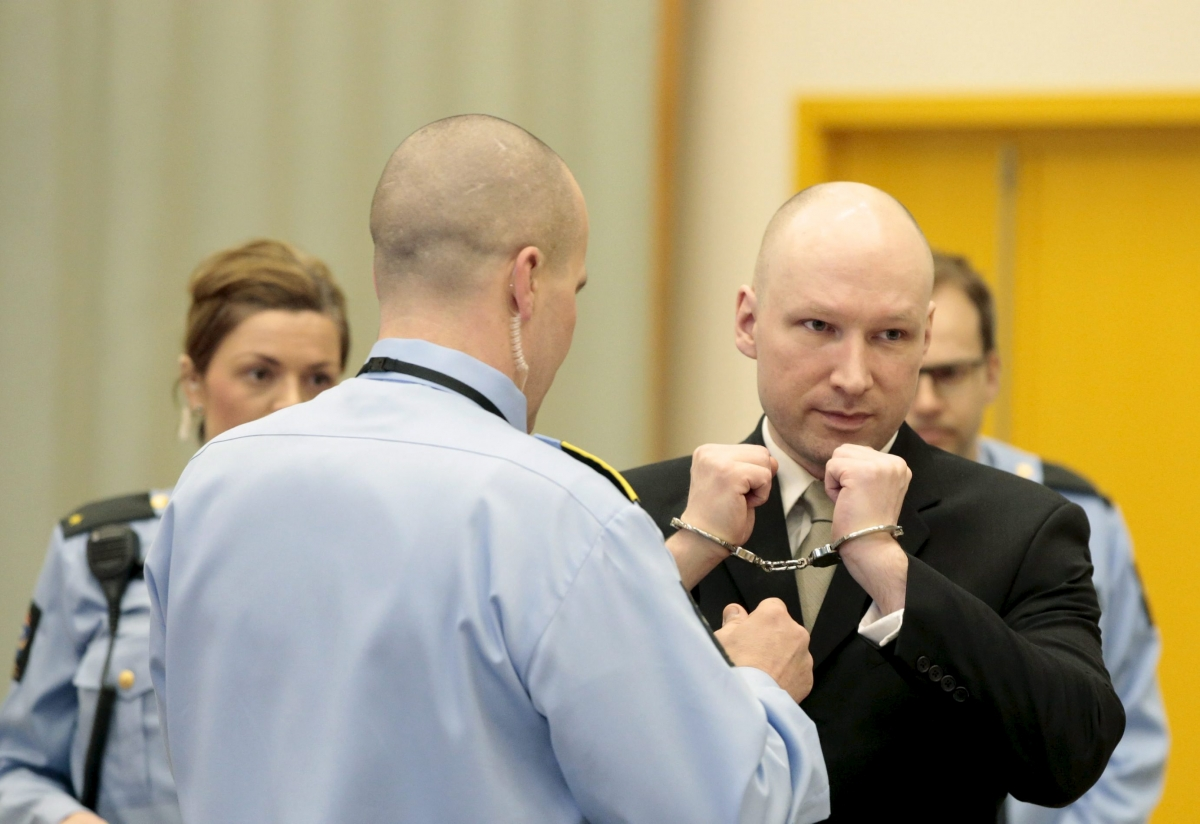 anders breivik norway court march 2016