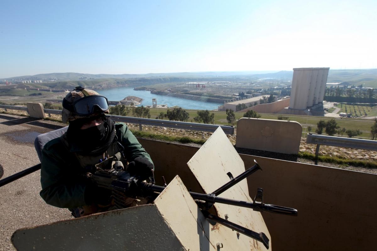 Mosul dam Isis Iraq Kurds 2016