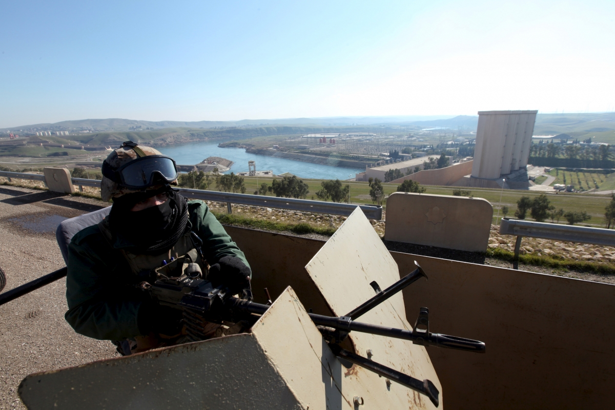 Mosul dam Isis Iraq Kurds 2016