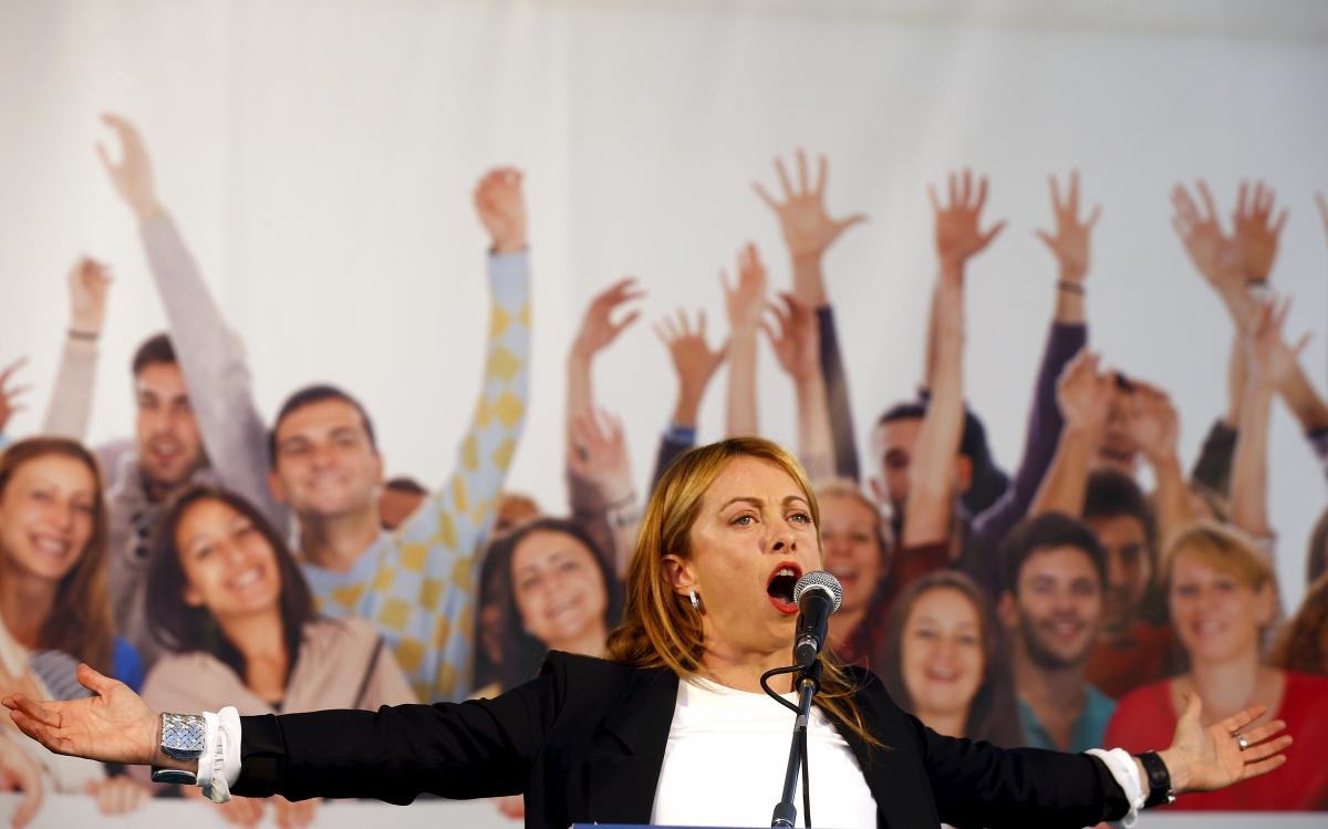 Giorgia Meloni Italy politics sexism