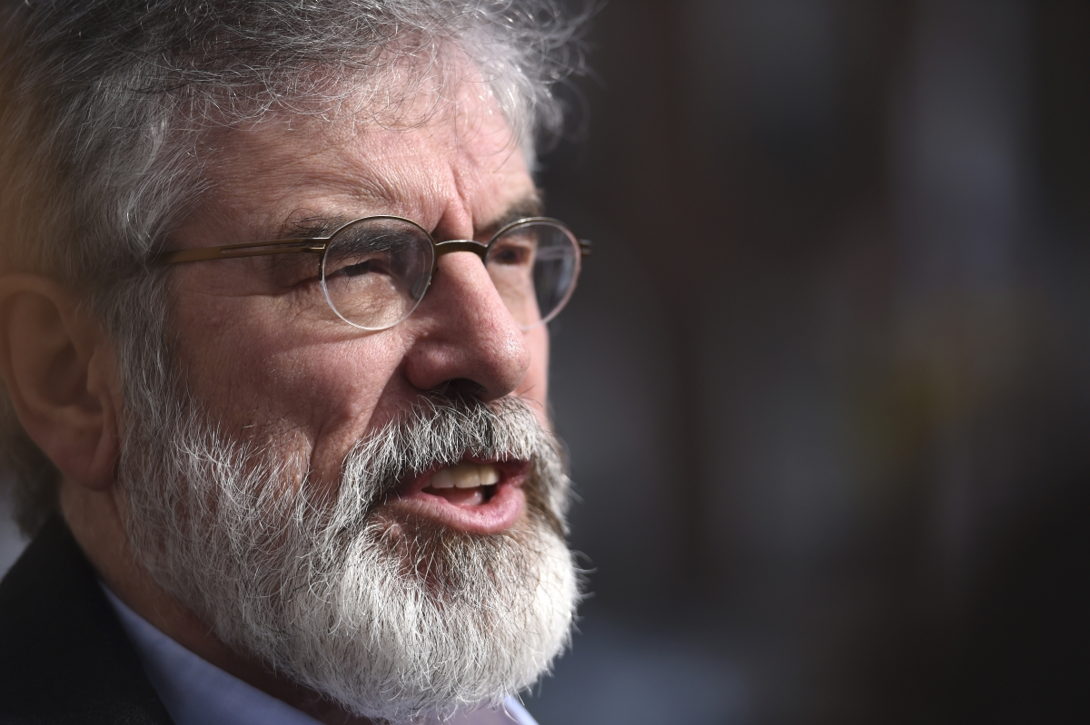 Gerry Adams blocked from White House reception