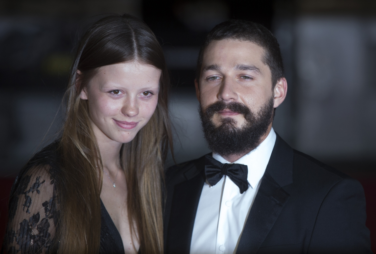 Watch Mia Goth Before Marrying Shia LaBeouf In Las Vegas