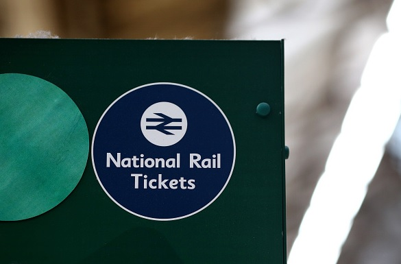 National Rail tickets sign
