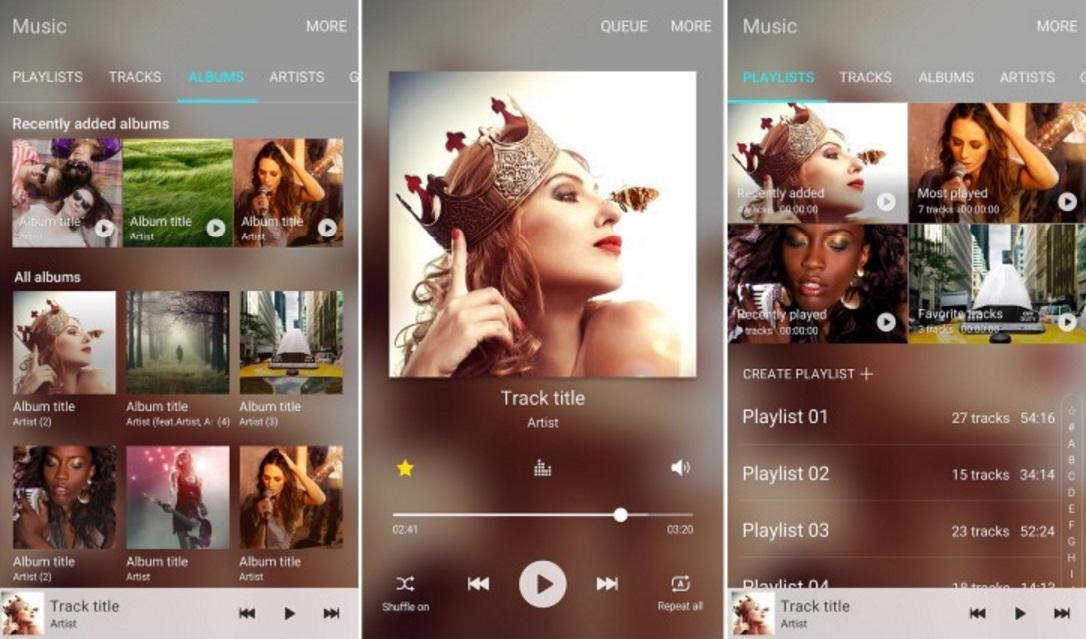 Samsung Music App