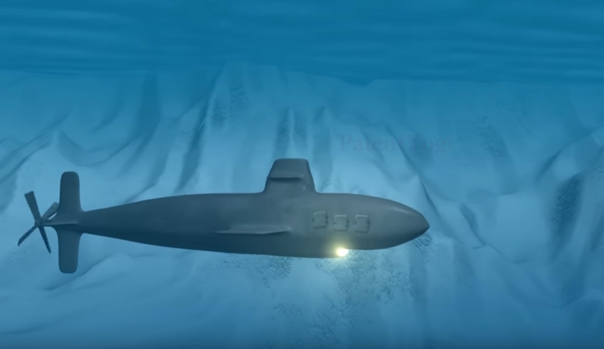US Navy device locates objects underwater