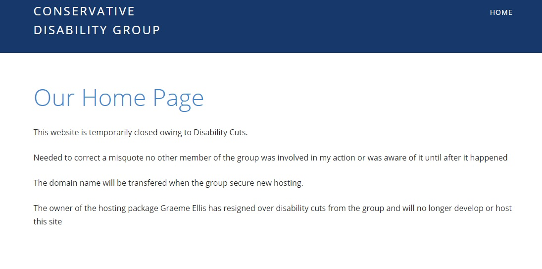 Disability cuts