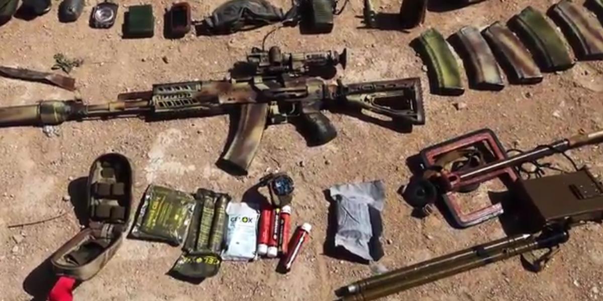 Russian military advisor killed Palmyra