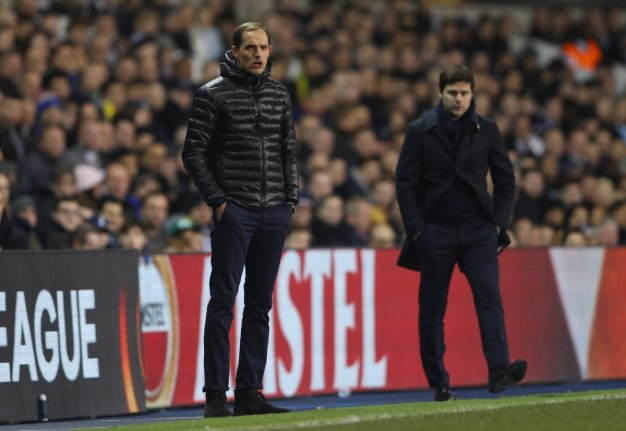 Mauricio Pochettino on the sidelines