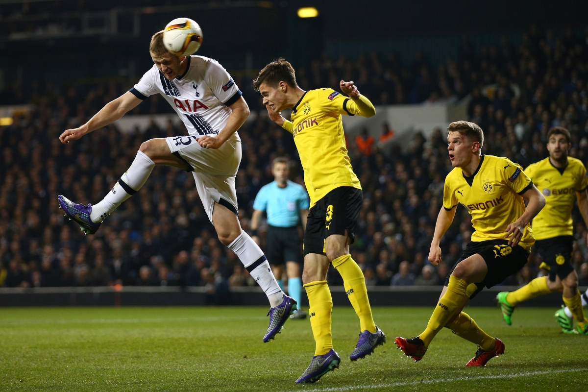 Eric Dier flashed an effort wide