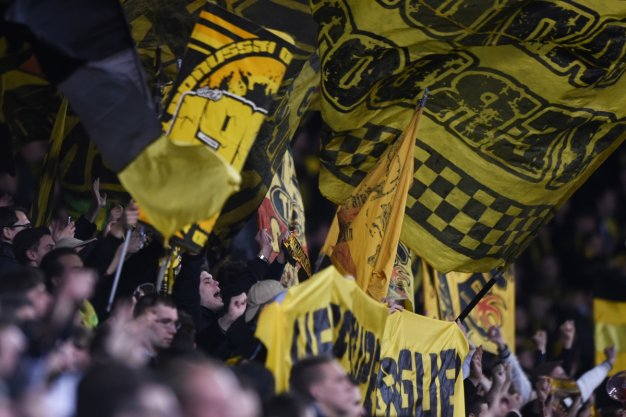 Dortmund fans relished their day in London
