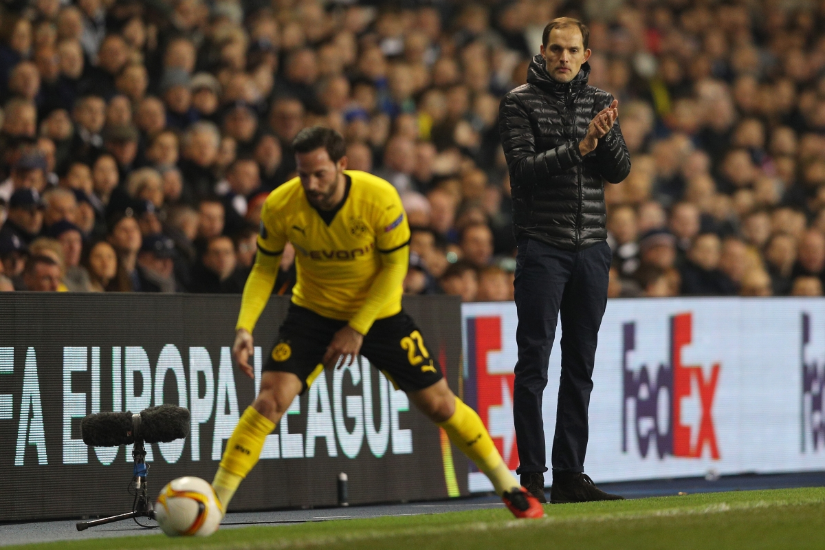 Thomas Tuchel is calm on the touchline