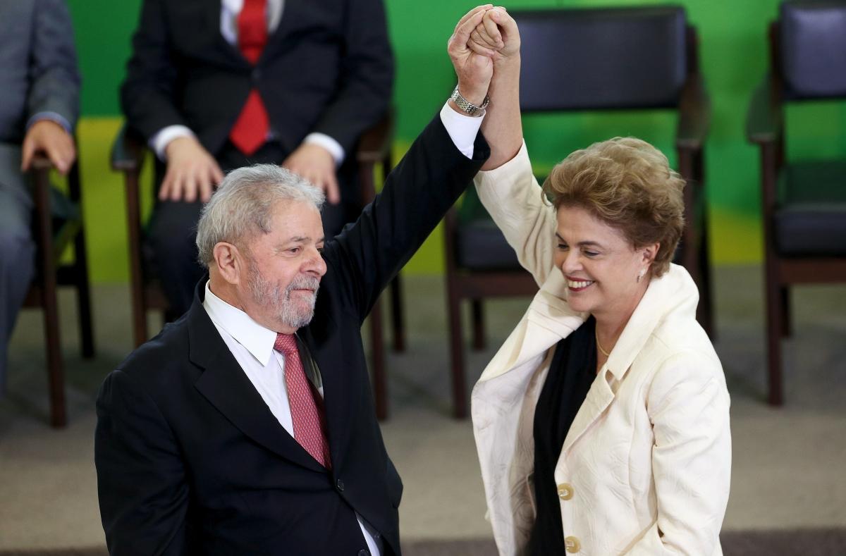Dilma and Lula
