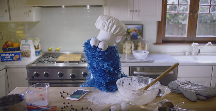 Cookie Monster ad