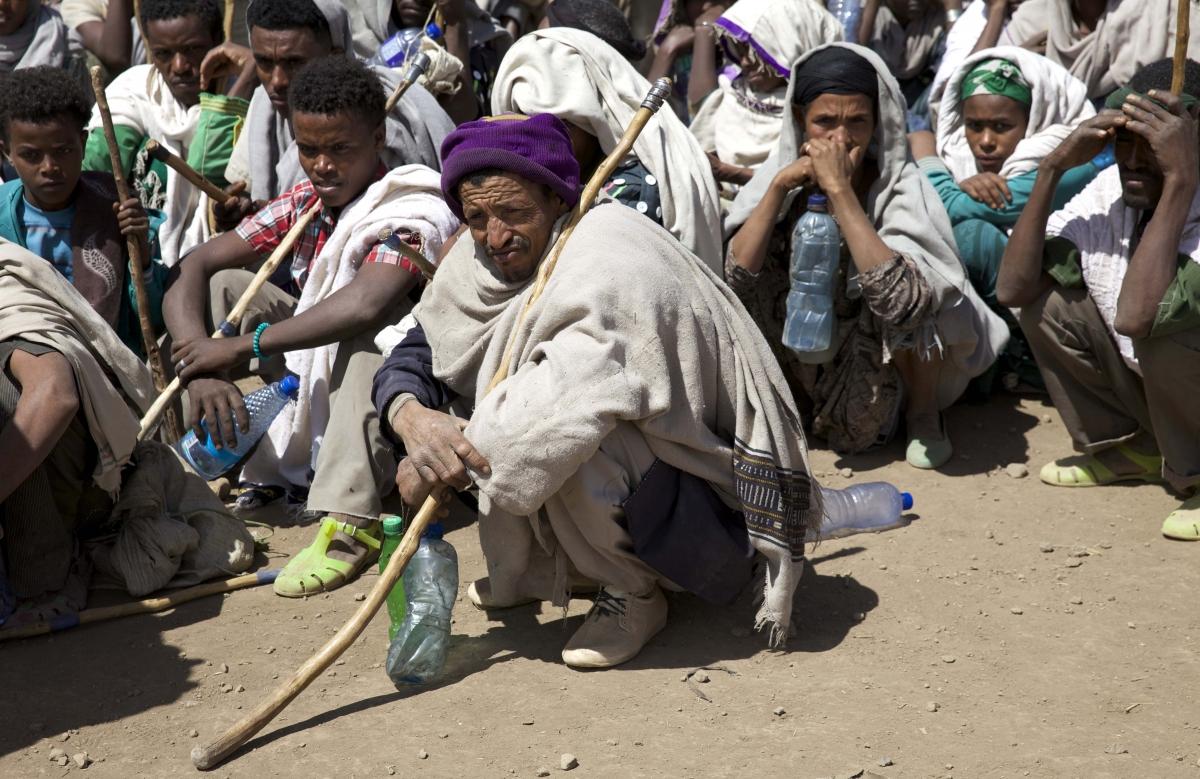 Ethiopia drought and humanitarian aid