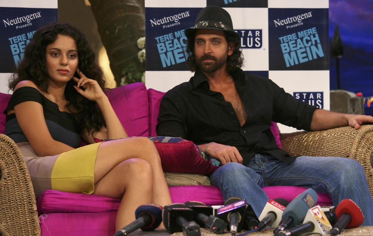 Hrithik Roshan and Kangana Ranaut