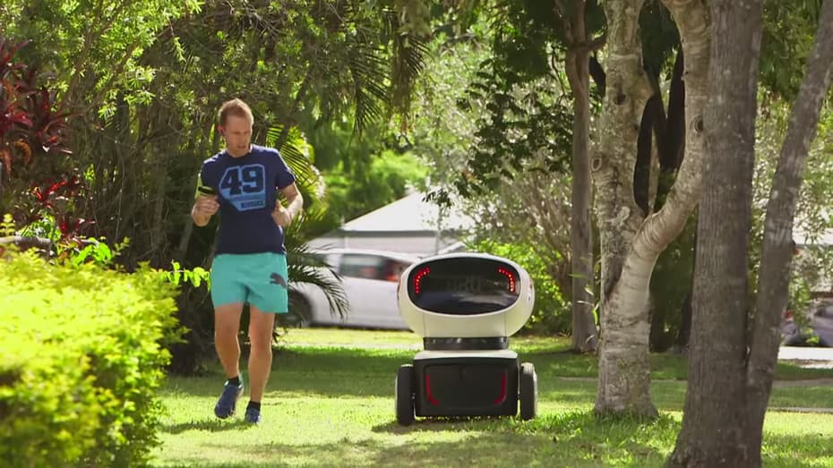 Domino's dishes out world's first ever pizza delivery robot