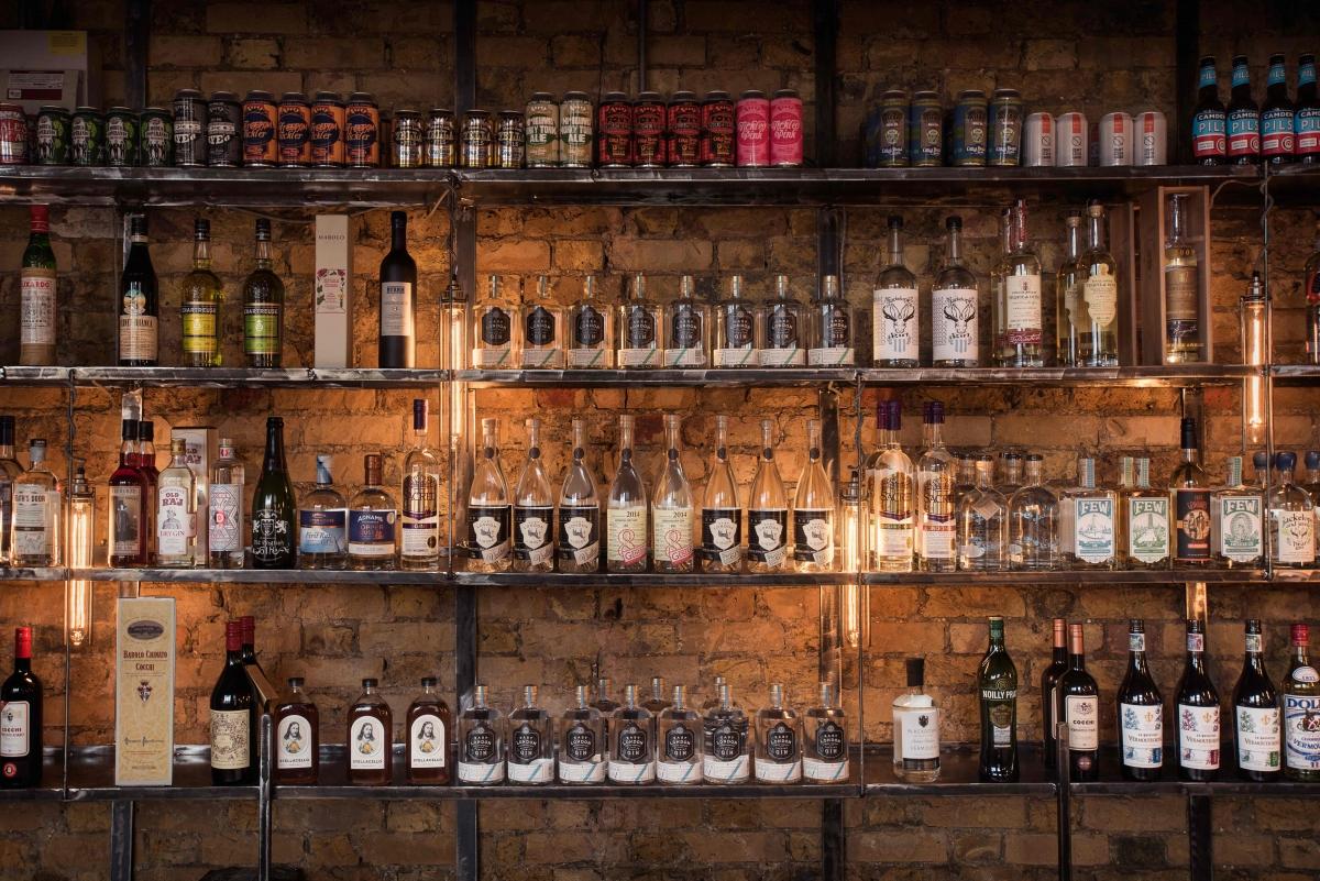 East London Liquor Company bottle shop
