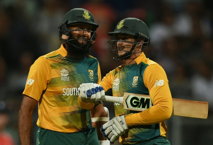 South Africa's openers in action