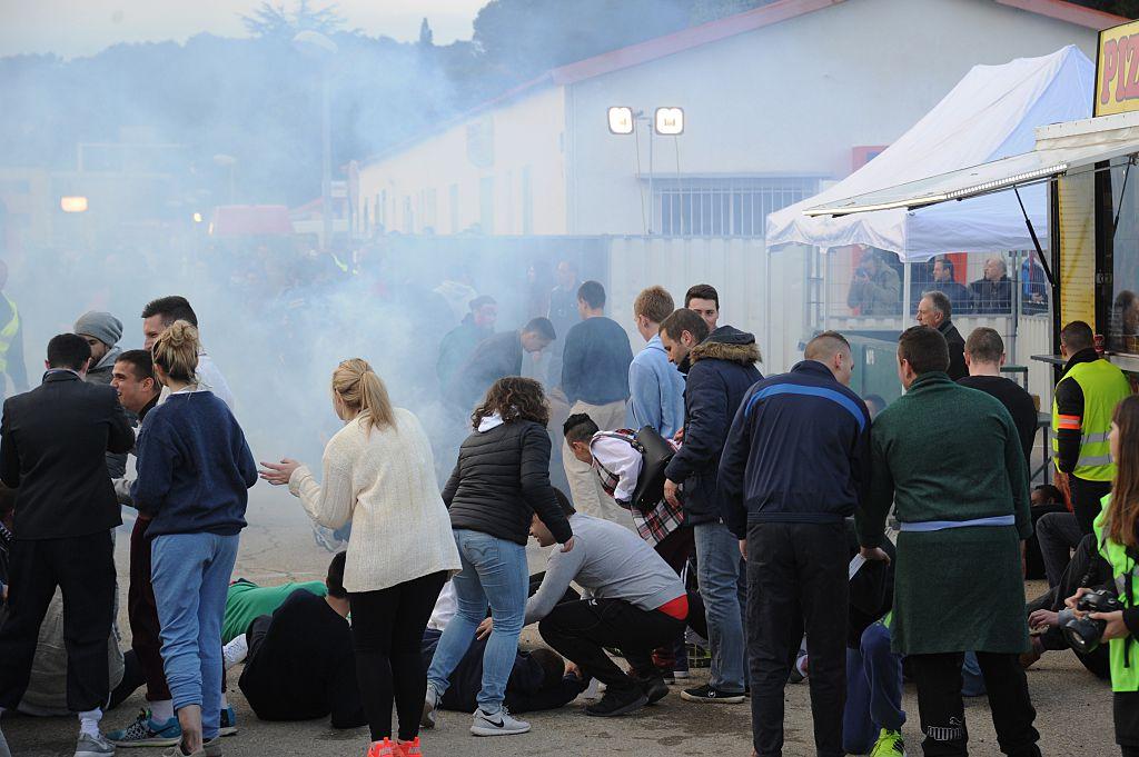 france terror attack fake