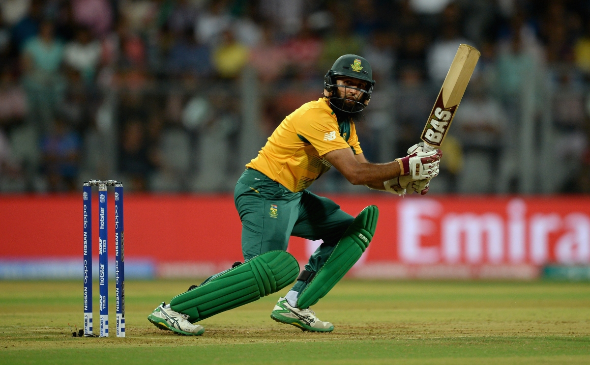 Hashim Amla starred with the bat