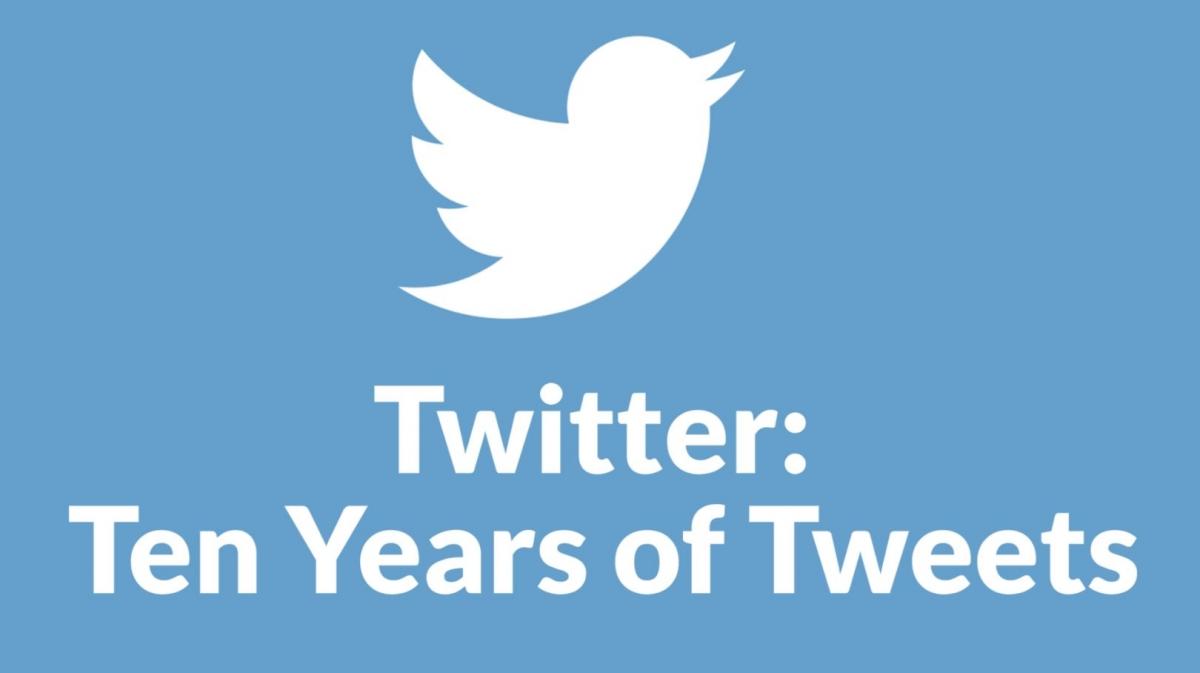 Twitter tenth birthday