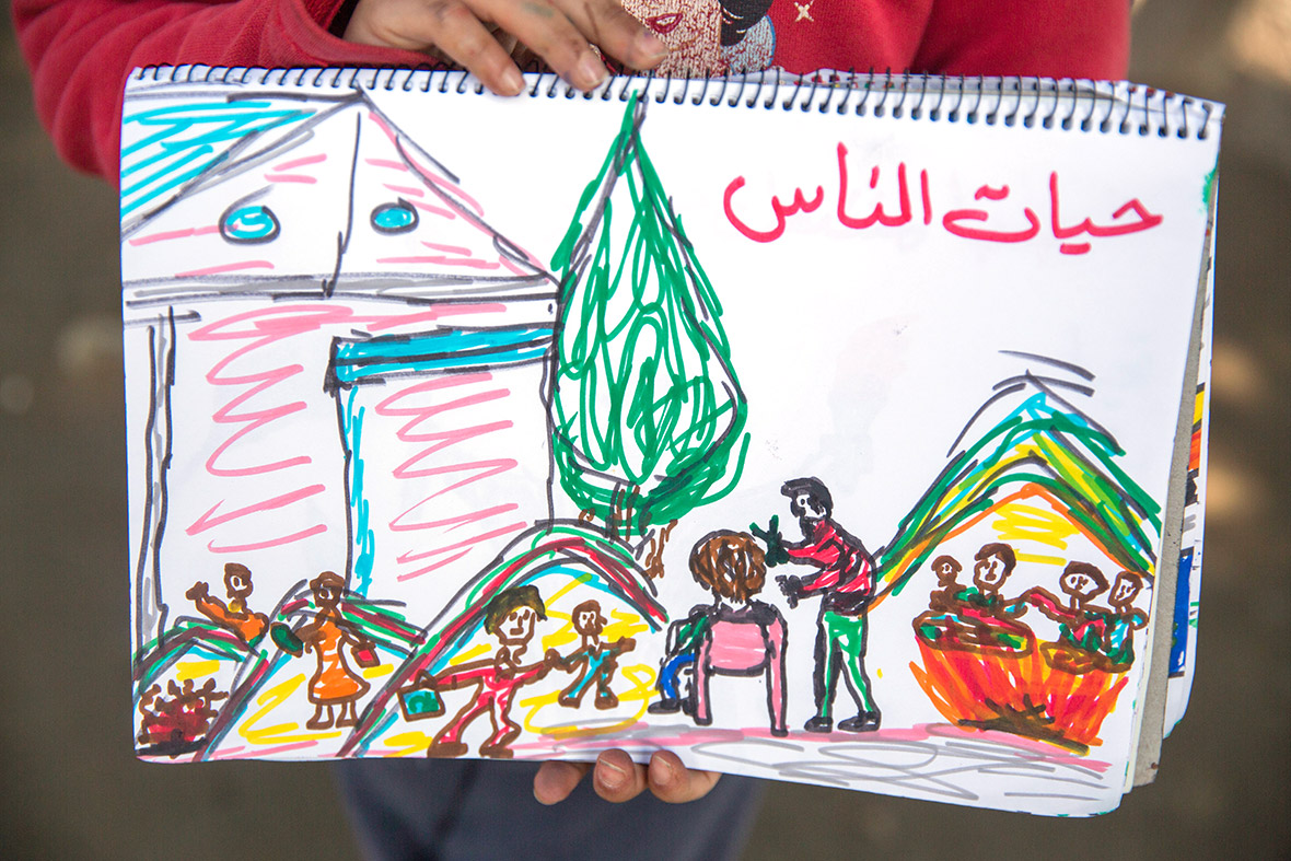 Syria children refugees