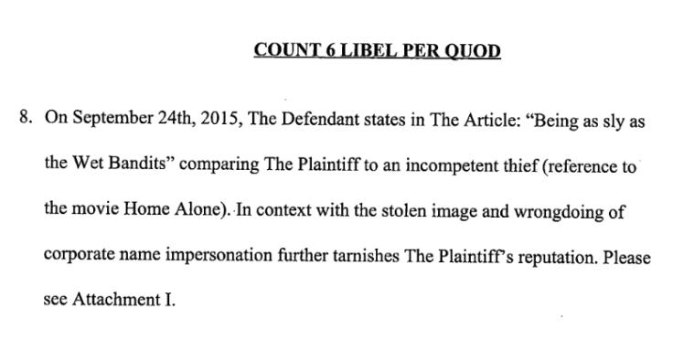 Jim Sterling Digital Homicide Court Document
