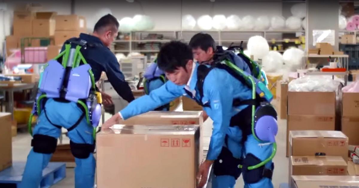 Panasonic Power Assist Suit  exoskeletons