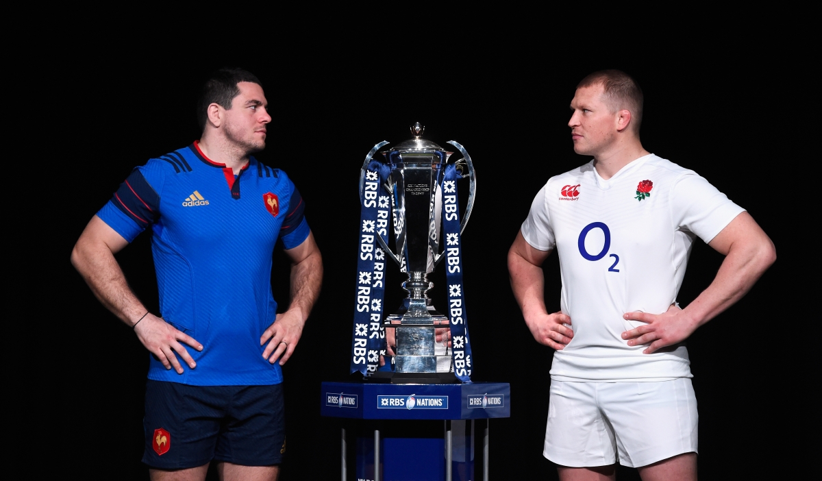 Guilhem Guirado and Dylan Hartley