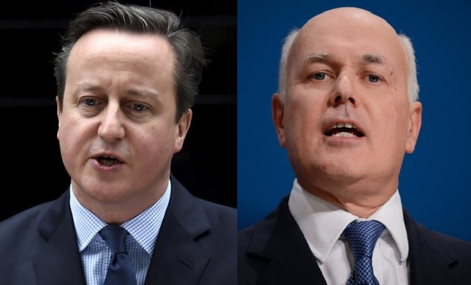 David Cameron and Iain Duncan Smith