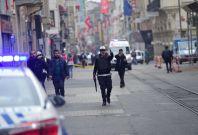 Istanbul blast Istiklal Avenue