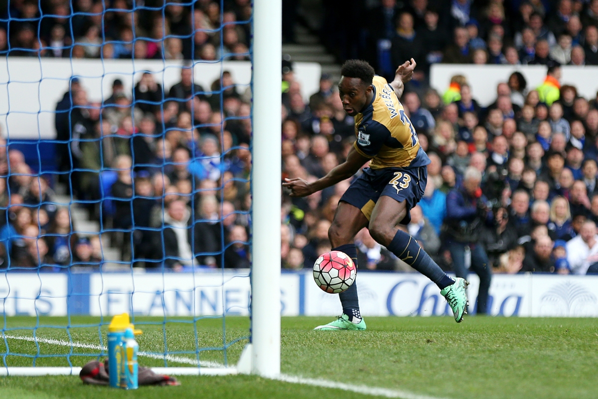 Danny Welbeck opens the scoring