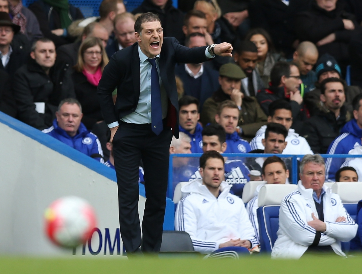 Slaven Bilic directs traffic